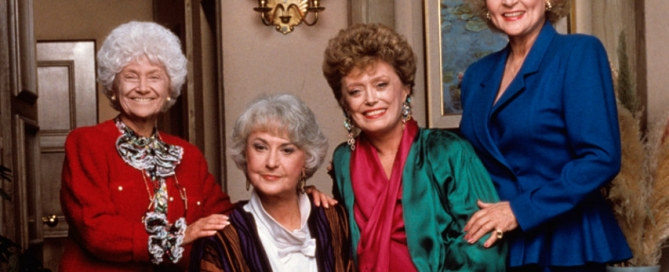 golden girls aging women