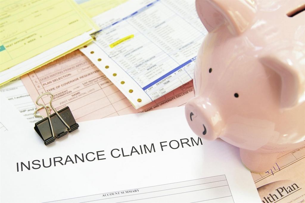 insurance claim for with piggy bank