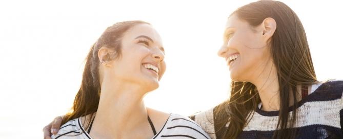 women discuss ui